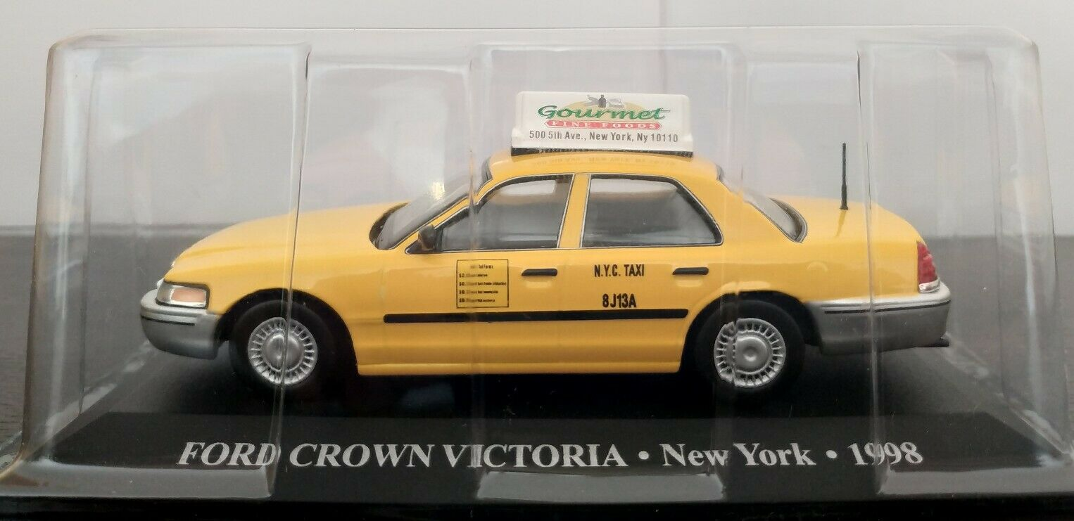 1 43 ford crown victoria nouveau york  1998 ixo altaya scale  plus abordable