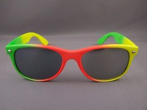 3ecaf9fb3c0 Image is loading Green-Orange-Yellow-mirror-lens-mirrored-80s-classic-