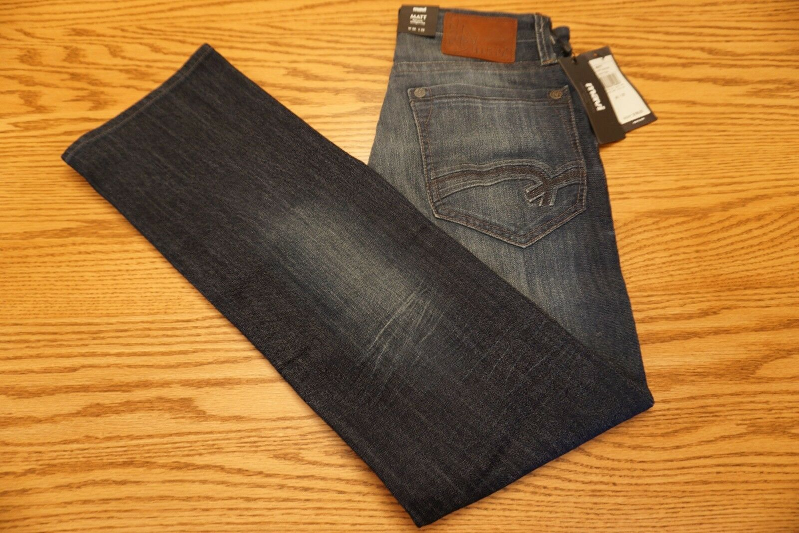 NWT MEN'S MAVI JEANS Multiple Sizes Matt Relaxed Straight Leg Deep Montana