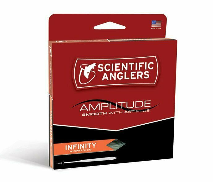 Scientific Anglers Amplitude Smooth Infinity Salt Fly Line  WF11F  nuovo