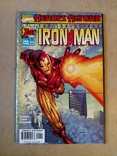 INVINCIBLE IRON MAN #1 HEROES RETURN 1ST PRINT MARVEL COMICS (1998)
