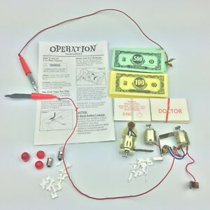 Operation-Board-Game-Replacement-Parts-and-Pieces-Select-Your-Own-Piece-s