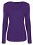 Womens-Ladies-Girls-Plain-Long-Sleeve-V-NECK-T-Shirt-Top-Plus-Size-Tops-Shirt thumbnail 15