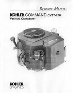kohler command 17 18 20 22 23 25 26 hp service manual ebay Kohler Command Pro 14 Wiring Diagram