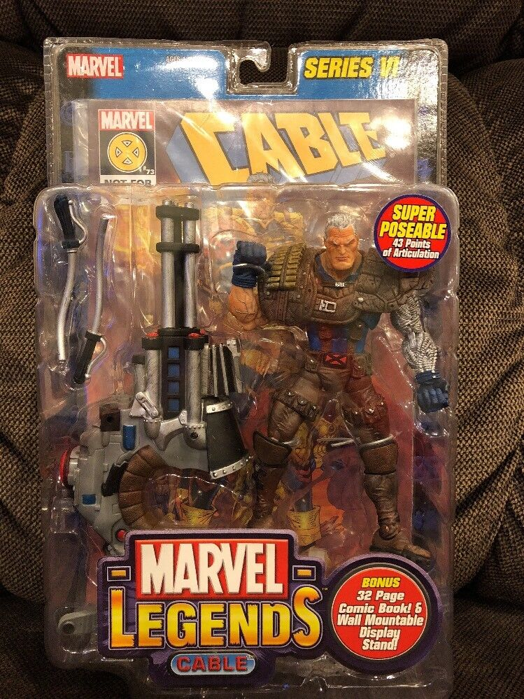 Cable Variant Series VI Marvel Legends Collection Deadpool II Movie 2018