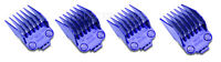 Andis Nano-silver Double Magnetic Comb Set (4 Pack) Barber Clipper Guards 01415