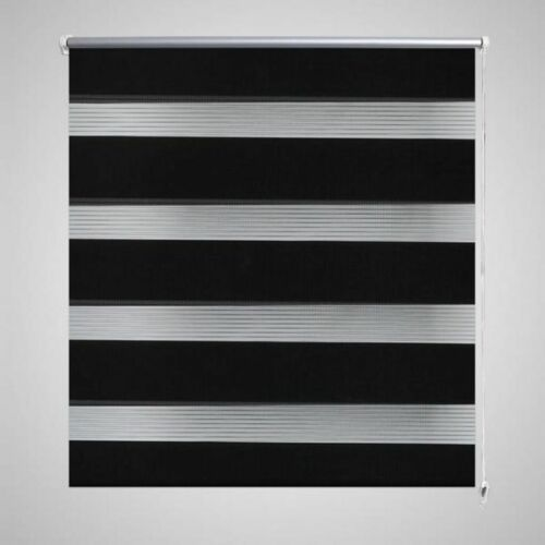 Window Roller Blinds Day And Night Zebra Vision Striped Multi Sizes /& Colours UK