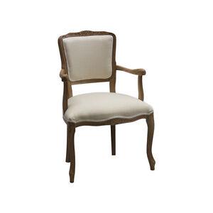 Kleiner Sessel Paris Holz Modell Sahara Tuch Beige Wirkung Rau Ebay