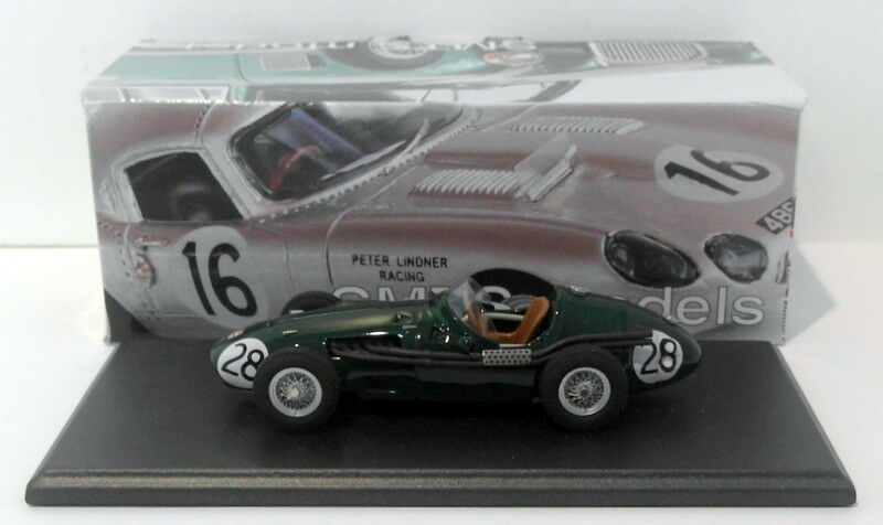 SMTS 1 43 Scale Weiß Metal BP4 - 1956 Maserati 250F  28 - R.Salvadori