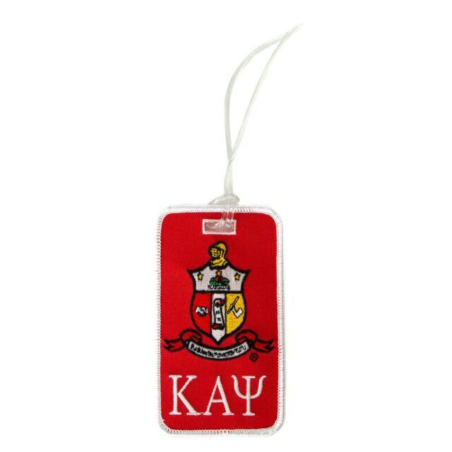 Shield Luggage Tag Kappa Alpha Theta Crest