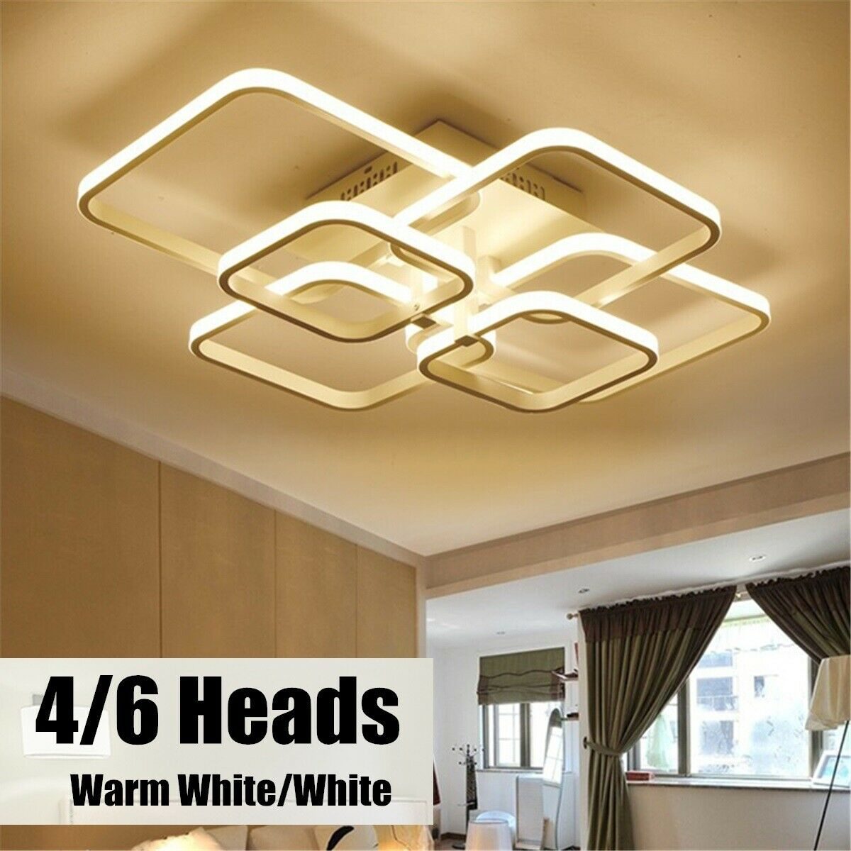 Three Heads Wooden Airplane Lights Children S Bedroom Ceiling Lamps Led Lighting For Sale Online Ebay