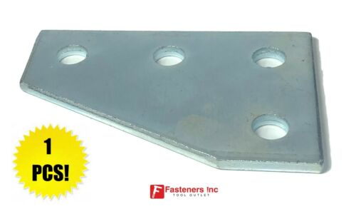 QTY 1 4-Hole Flat Plate Corner Gusset Fitting for Unistrut Channel #4626 P1380