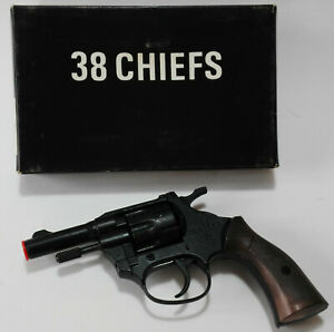 MONDIAL-CHIEFS-38-PISTOLA-GIOCATTOLO-TOY-GUN-VINTAGE-039-80-NEW-IN-BOX