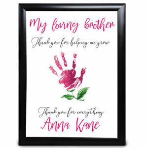 Personalised-Brother-Gifts-Hand-Flower-Sister-Xmas-Birthday-Gift-Keepsake