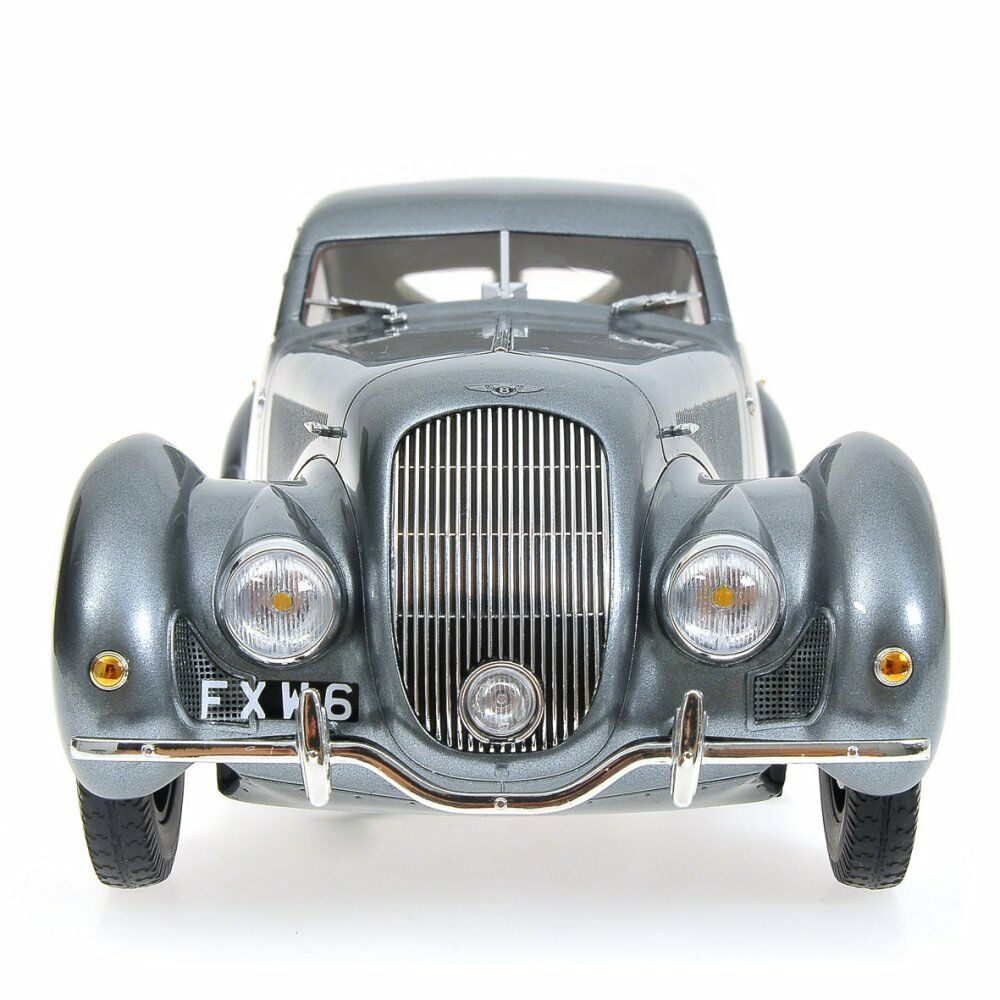 Minichamps 1938 Bentley Embiricos Grey Metallic LE of 999 999 999 1 18 New Release 674