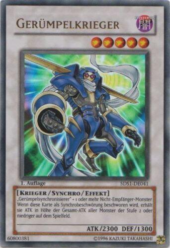 - 5DS1 Yu-Gi-Oh 1x Gerümpelkrieger