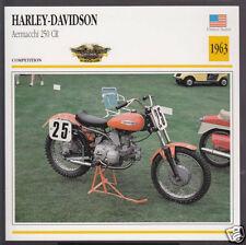 1961 Harley Davidson AERMACCHI Sprint H 250 Scrambler Motorcycle