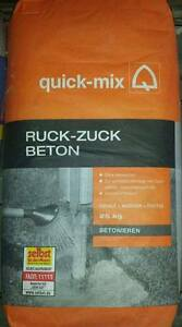 Quick mix ruck zuck