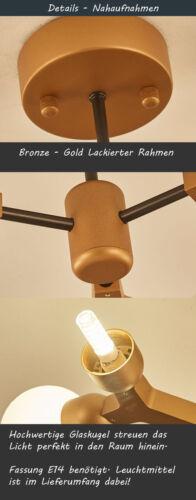 Lüster Deckenleuchte Leuchte Hängend NEU XW817 Fassung E14 Inkl Deckenlampe
