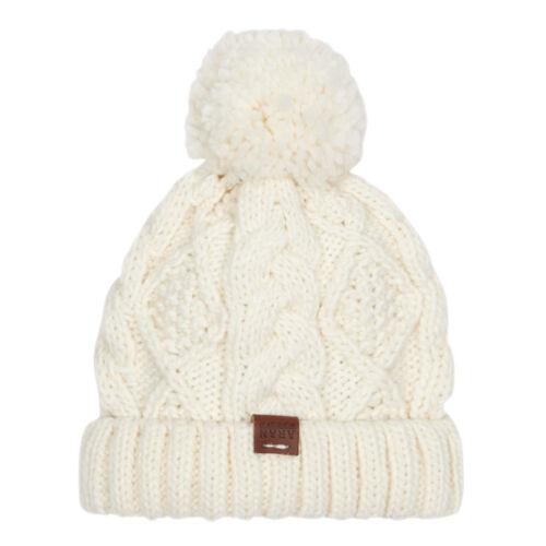 Aran Workshop Womans Ladies Men Winter Warm Chunky Knit Pom Pom Beanie Hat