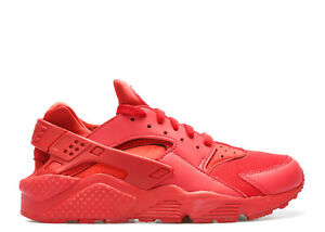 b6805fccf8 Image is loading Nike-Air-Huarache-Shoes-Triple-Red-October-318429-
