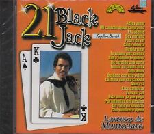 Lorenzo De Monteclaro 21 Black Jack CD New Sealed