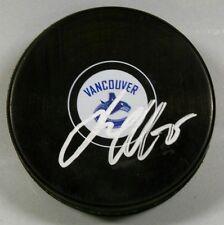 JACOB MARKSTROM Signed VANCOUVER CANUCKS HOCKEY PUCK 1007063
