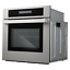 thumbnail 4 - Cosmo Single Electric Wall Oven 24 in. 2.5 cu. ft. Safety Lock Stainless Steel