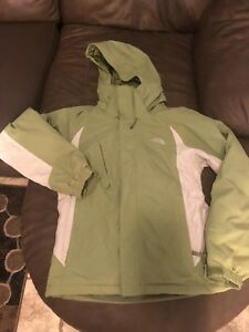 260f5aa1d Details about The North Face HYVENT Hooded Jacket Womens Sz S/P