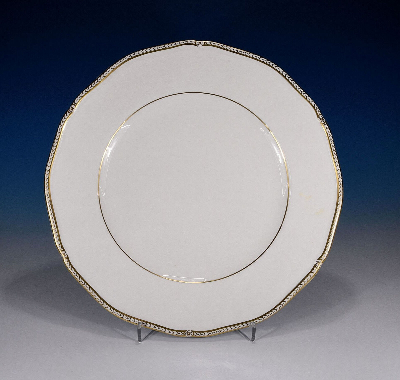 Wedgwood   Couronne or   Assiette 27,5 Cm