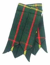 Men's Scottish Kilt Flashes Hunting Stewart Tartan/Hunting Stewart Tartan Flashe