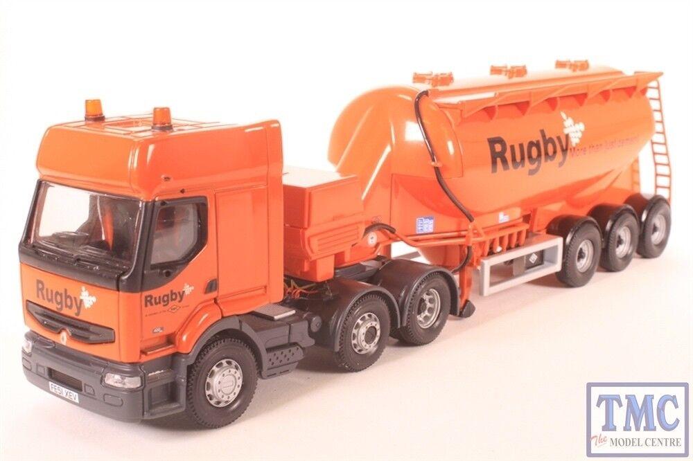 Corgi CC12105 Renault Premium Feldbinder Tanker - Rugby Cement