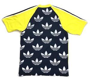 Horizontal Manga Opinión  adidas Originals B Side Jersey 2 T-Shirt DH5132 - Yellow - Small - RRP £60  - New | eBay