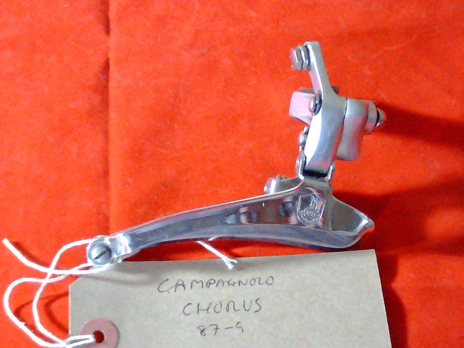 CAMPAGNOLO CHORUS  FRONT DERAILLEUR, 80's-90's