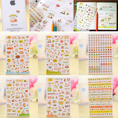 New Lovely Cat Scrapbooking Memo Stickers Diary Sticker Decoration Sticker Set
