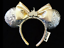 New-Disney-Parks-Silver-Sequin-Sleeping-Beauty-Castle-Jewel-Minnie-Ears-Headband thumbnail 1
