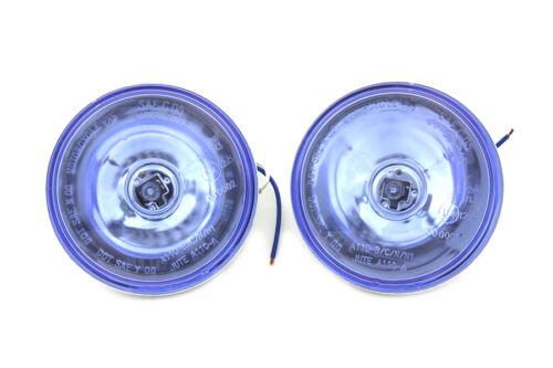 Vtwin Halogen Blue 4-1/2 Spot lamp Driving Light Bulbs Harley Davidson
