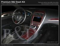 Wood Grain Dash Kit Add On For Lincoln Mkz 2017 (models W/ Factory Wood Grain)
