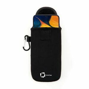 Veritable-Invencase-Noir-Neoprene-Etui-Sac-pour-Samsung-Galaxy-A30-2019