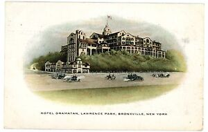 Image Is Loading Bronxville Ny Hotel Gramatan In Lawrence Park Postcard