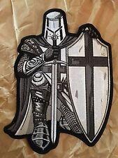 Black Crusader Knight Back Patch