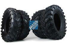 "Yamaha 350/450 Grizzly 2007-2013 MASSFX MS 25"" ATV Tires 25x8-12 25x10-12 4 Set"
