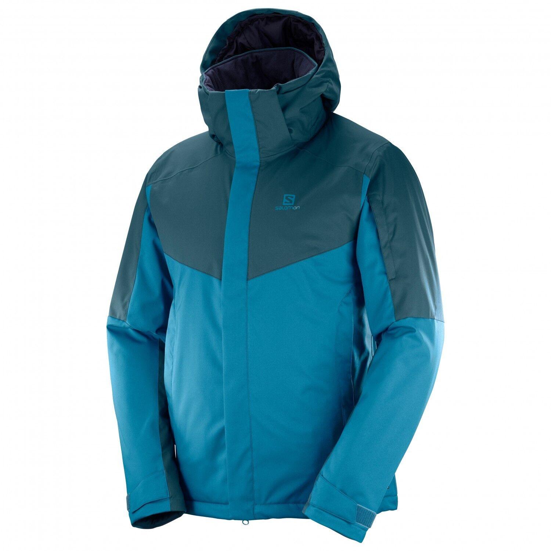 Salomon señores invierno chaqueta invierno chaqueta esqui, snowboard, stormseeker JKT, GR  m