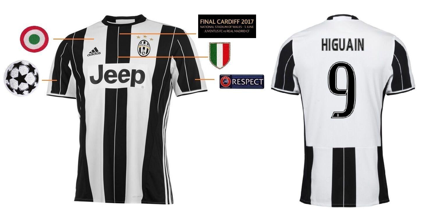 Trikot Juventus Turin Champions League Final Cardiff 2017 - Higuain