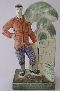Superb-Rye-Pottery-Major-Tweedie-Golfing-Golf-Figure-By-Neal-French