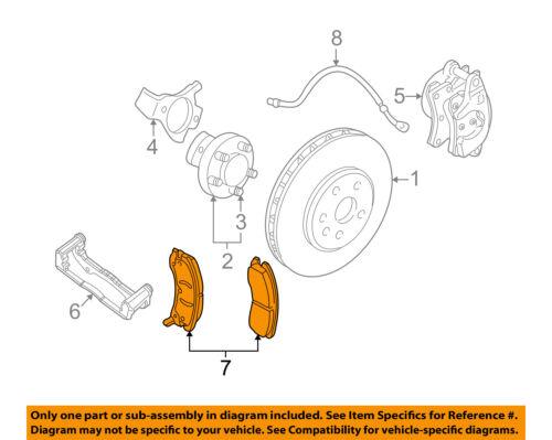 GM OEM Brake-Front Pads 19259588