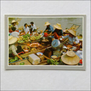 The-Floating-Market-Banpa-in-Ayudthya-Thailand-Postcard-P372