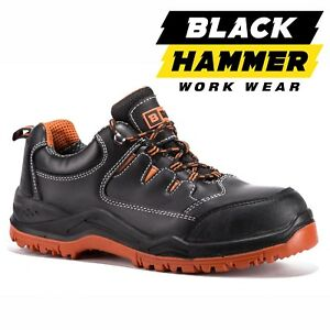 info for c19b2 505a9 Details about Mens Leather Waterproof Ultra Lightweight Safety Trainer Toe  Cap Hiker Work Shoe