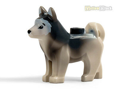 LEGO® Hund Husky weiß White Dog Husky 16606pb001 6076467 NEU