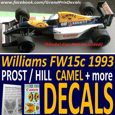 DECALS F1 KIT FERRARI 642 F1 GP PHOENIX 1991 PROST-ALESI DECALS